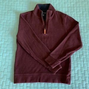 Lands' End | Burgundy Quarter-Zip